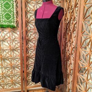 Romantic Handmade Velvet Dress
